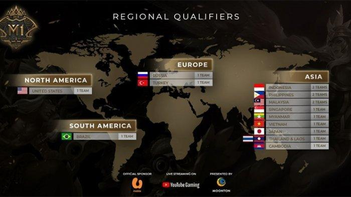 Live Streaming Turnamen Playoff Pertama Mobile Legends World Championship (M1) 2019