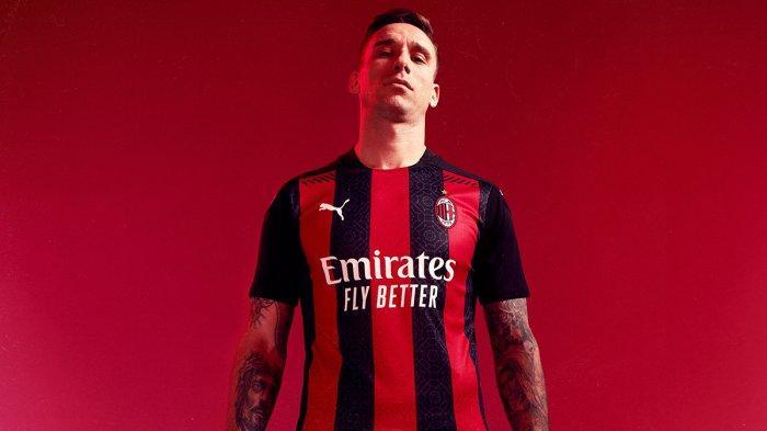 UPDATE Jersey Klub Liga Italia Musim 2020/2021, AC Milan Resmi Luncurkan Jersey Home