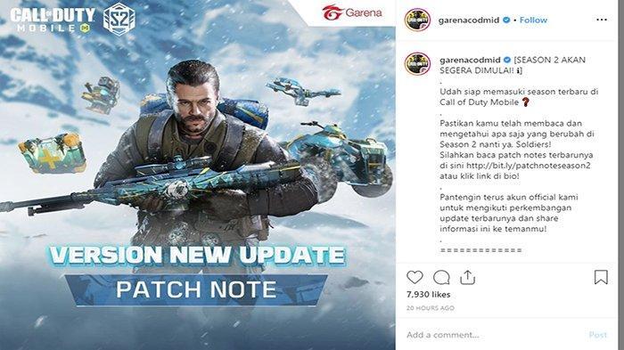 Segera Dimulai Season 2 Garena Call of Duty Mobile, Pembaruan Rank Match hingga Map Terbaru