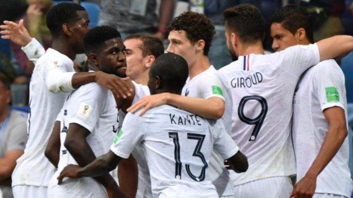 Inilah 6 Statistik Menarik dalam Kemenangan Prancis atas Uruguay