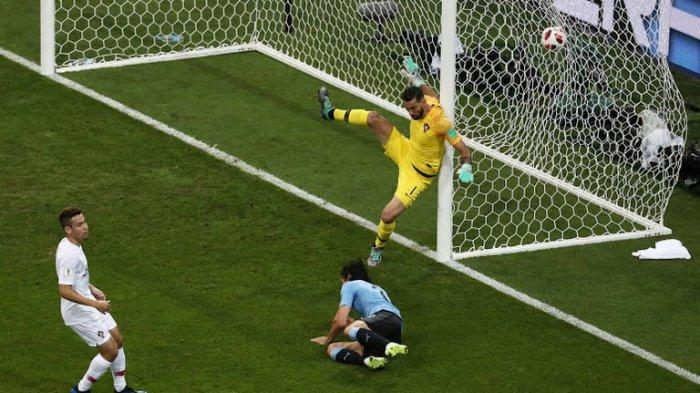 Uruguay vs Portugal - Baru 7 menit, Cavani Cetak Gol. Tanda-tanda Ronaldo Pulang Susul Messi?