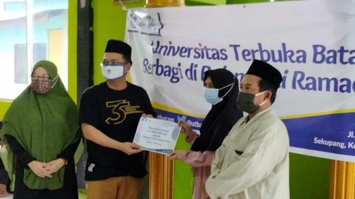 Universitas Terbuka Batam Berbagi di Bulan Suci Ramadhan