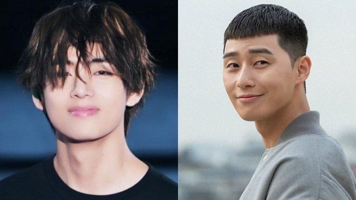 V BTS Kunjungi Lokasi Syuting Itaweon Class, Beri Dukungan Untuk Park Seo Joon