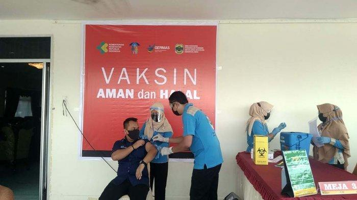 Vaksinasi Covid-19 di Lingga Sudah Berjalan, 92 Batal Disuntik