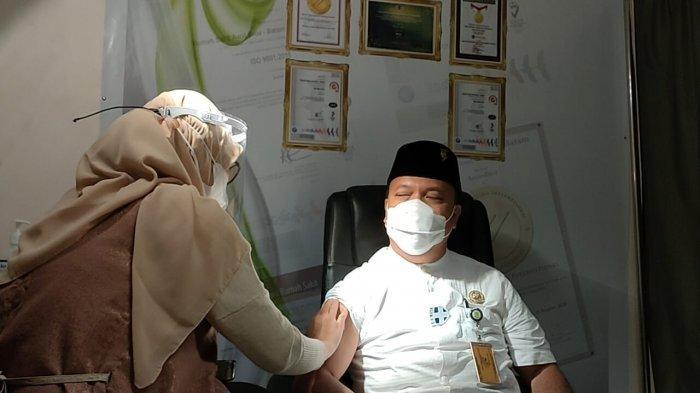 Vaksinasi Corona di Batam Sentuh ASN, Dinkes Klaim Capaian Dosis I Sudah 97 Persen