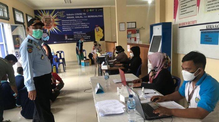 Vaksinasi Corona di Bintan Mulai Sentuh Warga Binaan Lapas Narkotika Tanjungpinang