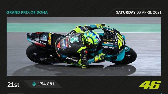 Posisi Start MotoGP Malam Ini, Jorge Martin Terdepan, Valentino Rossi Paling Belakang