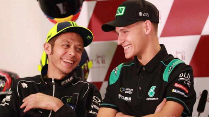 Fabio Quartararo Jadi Pebalap Yamaha MotoGP 2021 Bersama Vinales, Nasib Valentino Rossi?