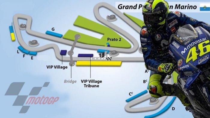 Jadwal Lengkap MotoGP Italia - Valentino Rossi Sudah Lama Tidak Juara di Sirkuit Misano