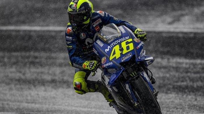 MotoGP Thailand - Ssst . . Ada Perangkat Baru di Motor Valentino Rossi, Apa Itu?