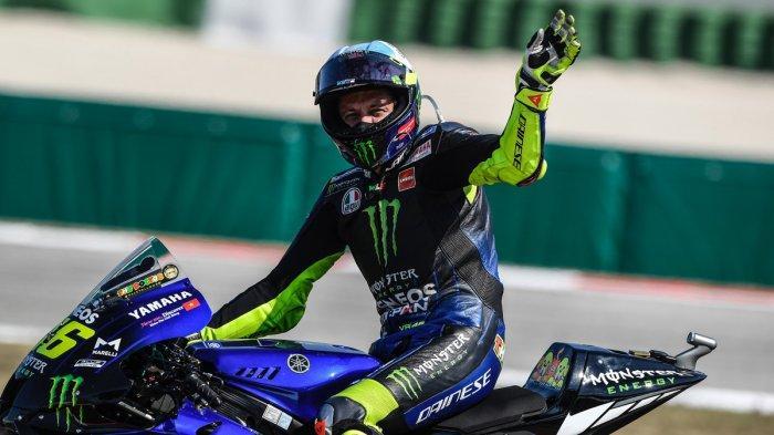 Valentino Rossi Gagal Finish,  Maverick Vinales Pemenang MotoGP Emilia Romagna 2020