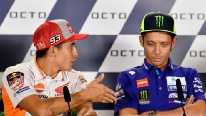 MotoGP San Marino - Heboh Soal Tolak Jabat Tangan dengan Marc Marquez, Valentino Rossi Minta Maaf