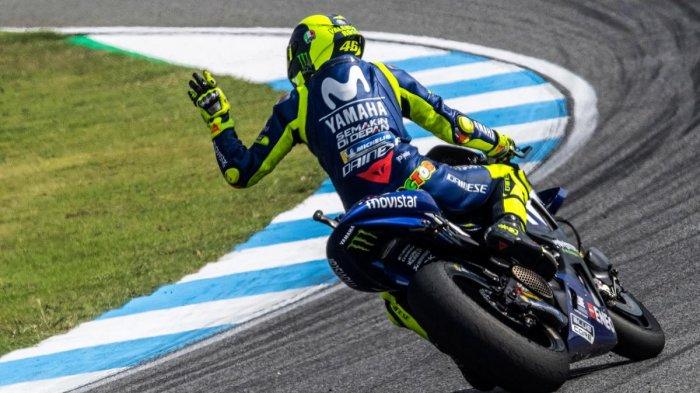 Alami Periode Suram di MotoGP, Akankah Valentino Rossi Hengkang dari Yamaha? Ini Jawabannya