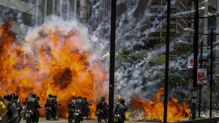 Tinggal Tunggu Instruksi, Amerika Serikat Nyatakan Siap Perang di Venezuela