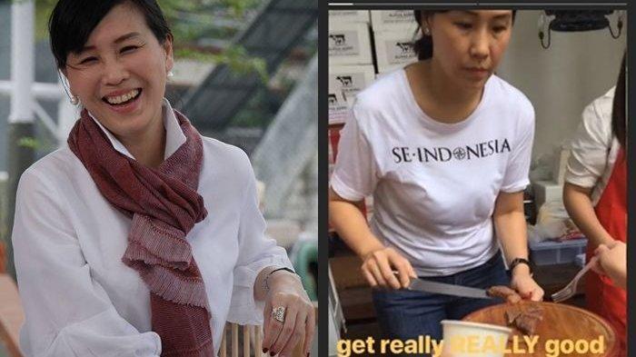Setahun Lebih Bercerai dengan Ahok, Veronica Tan Kerja Keras Berjualan Daging di Hari Lebaran