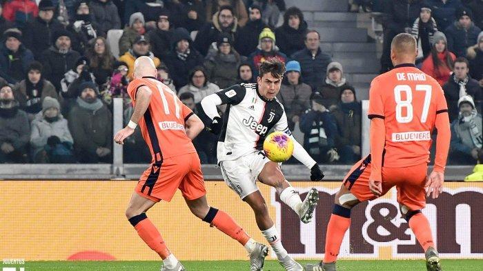 VIDEO Cuplikan Gol Juventus vs Udinese di Coppa Italia, Dybala Cetak Brace, Cristiano Ronaldo Absen