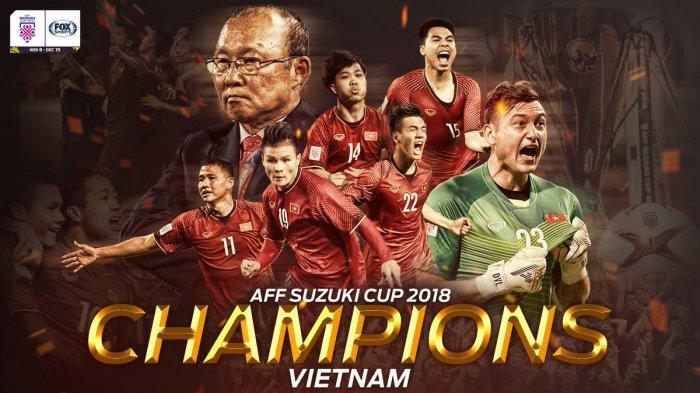 Vietnam Juara Piala AFF 2018 Setelah 10 Tahun, Inilah Daftar Juara Piala AFF Sejak 1996, Indonesia?