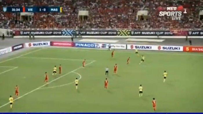 SEDANG BERLANGSUNG! Live Streaming Vietnam vs Malaysia di Piala AFF 2018 - Vietnam Sementara Unggul