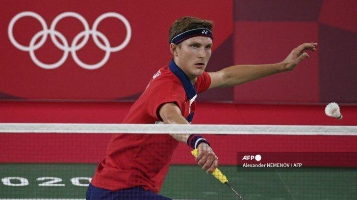 Hasil Semifinal Bulutangkis Olimpiade Tokyo 2020, Kalah Kevin Cordon, Viktor Axelsen ke Final