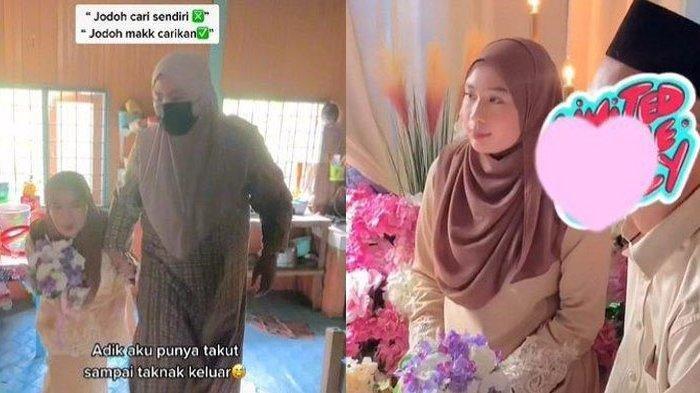 Viral di TikTok, Gadis Tersipu Malu Ketemu Jodoh Pilihan Orangtuanya, Sempat Cemas dan Deg-degkan