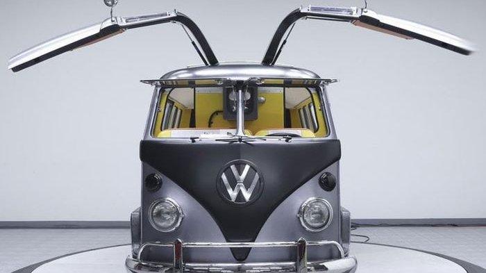 Begini Jadinya Bila VW Kombi Didesain Ala Mobil di Film Back To The Future, Intip Penampakannya