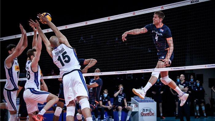 Volleyball Nations League 2021 Italia vs Belanda, Rabu (16/6/2021)