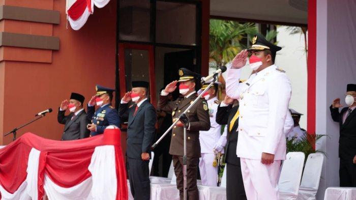 Upacara HUT RI ke-76 di Bintan Tanpa Apri Sujadi, Roby Kurniawan Jadi Inspektur Upacara