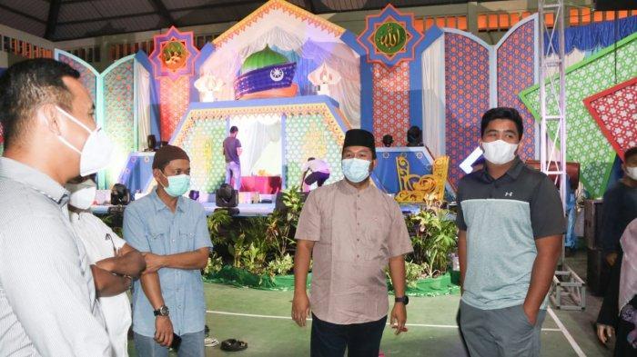 Wabup Robby Kurniawan Tinjau Lokasi MTQ Bintan 2021, Kawal Ketat Protokol Kesehatan