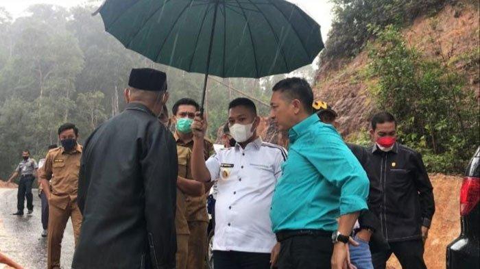 Wabup Lingga Hentikan Proyek Jalan Rp 3 Miliar, Neko Wesha Akui Kecolongan