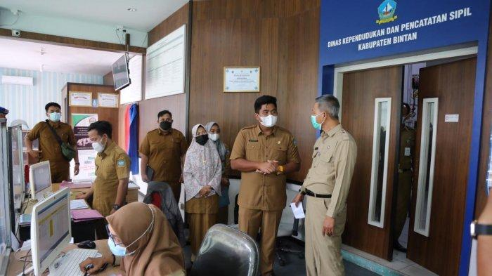Layanan Disdukcapil Bintan Beralih ke Online Setelah Ada Pegawai Positif Covid-19