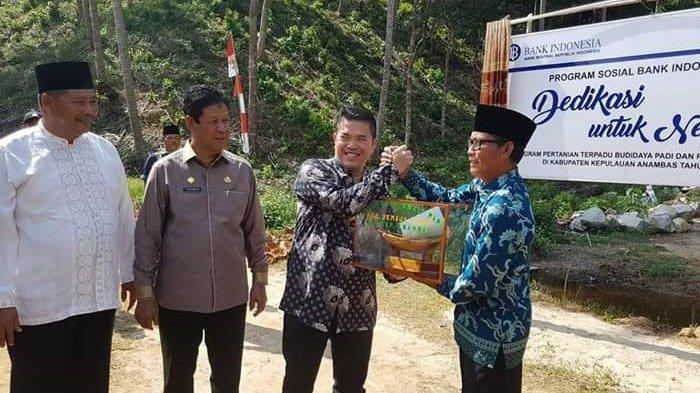 Hadiri Pelatihan dan Peresmian Program Pertanian, Isdianto yakin Anambas Bisa Jadi Sentra Pertanian