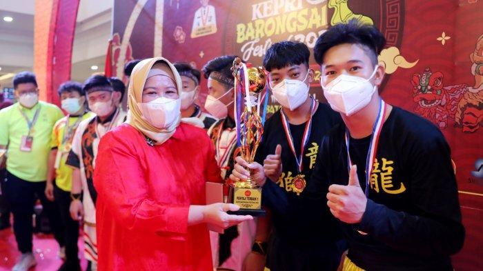 Wagub Marlin Agustina Hadiri Kepri Barongsai Festival, Pariwisata Pulih, Ekonomi Bangkit