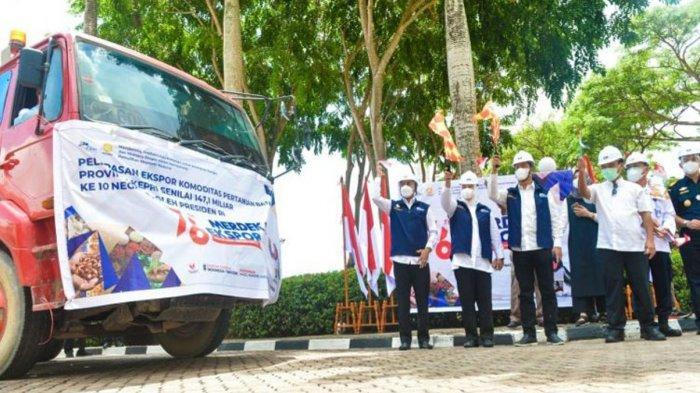 Wagub Kepri Melepas Ekspor Pertanian Rp 147 Miliar dari Pelabuhan Batu Ampar Batam