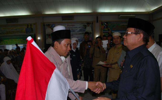 Sembilan Jemaah Calon Haji Jambi Ditunda