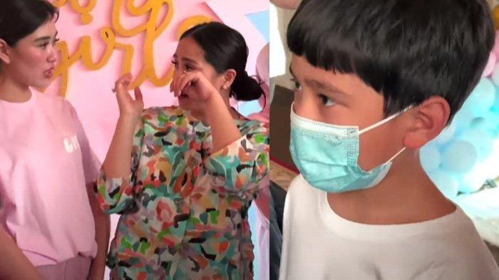 Kondisi Anak Syahnaz Bikin Nagita Slavina Hampir Nangis, Rafathar Ikut Prihatin: Jatuh Dimana?