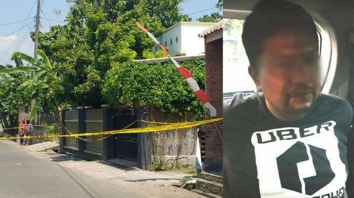Penampakan Wajah Pelaku Pembunuhan Satu Keluarga di Baki Seukoharjo, Dipicu Masalah Hutang