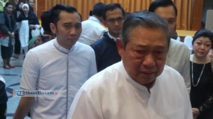 Mewakili Keluarga Besar Yudhoyono, Ini Pernyataan AHYAtas Wafatnya Ibu Ani