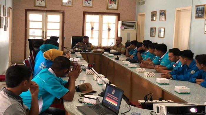 Wakapolres Anambas Dorong Peran Pemuda Minimalisir Pungli,Berikan Informasi Kegiatan Pencegahan