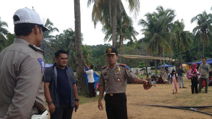 Wakapolresta Barelang Turun Pimpin Pengamanan Lebaran di Tanjung Pinggir, Ini Perintahnya!