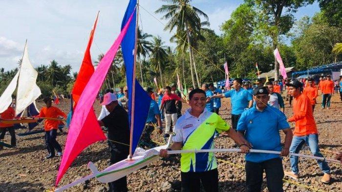 Ratusan Masyarakat Ramaikan Festival Keter di Kelurahan Tembeling Bintan, Begini Keseruannya