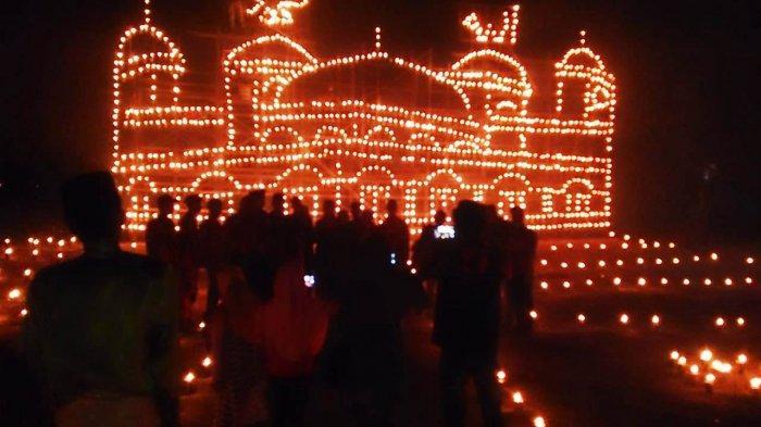 Lampu Colok Tradisi Ramadhan di Karimun Ditiadakan karena Terbentur Dana