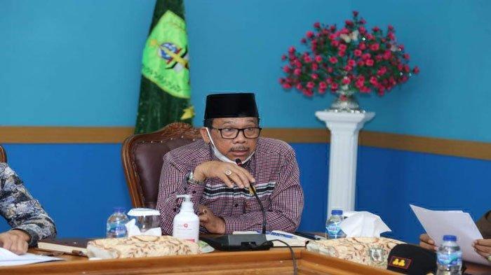 Wakil Ketua II DPRD Natuna Jarmin Sidik meminta proses pengeboran di Blok Tuna dan operasional pengeboran Migas dapat melibatkan putra daerah, di Ruang Rapat Kantor Bupati Natuna, Kamis (3/6/2021) lalu.