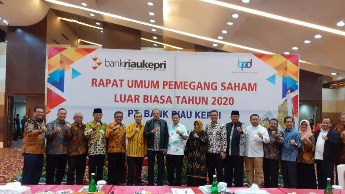 Wakil Wali kota Tanjungpinang ke Pekanbaru, Hadiri Rapat Pergantian Direksi Bank Riau Kepri