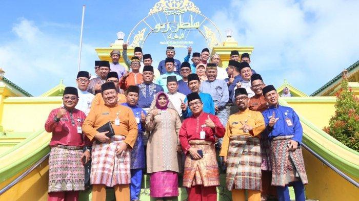 Korpri Tanjungpinang Gelar Wirid Bulanan di Masjid Penyengat, Bersempena Hari Jadi Pulau Penyengat