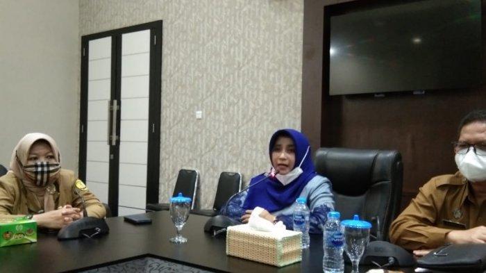 Wali kota Tanjungpinang Rahma di kantor Wali kota Tanjungpinang, Selasa (2/2/2021).