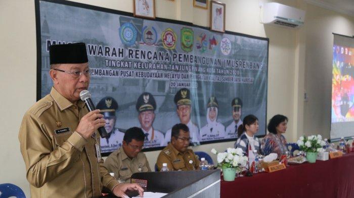 Syahrul Hadiri Musrenbang Perdana Tingkat Kelurahan Tanjungpinang 2020, Ini Pesannya