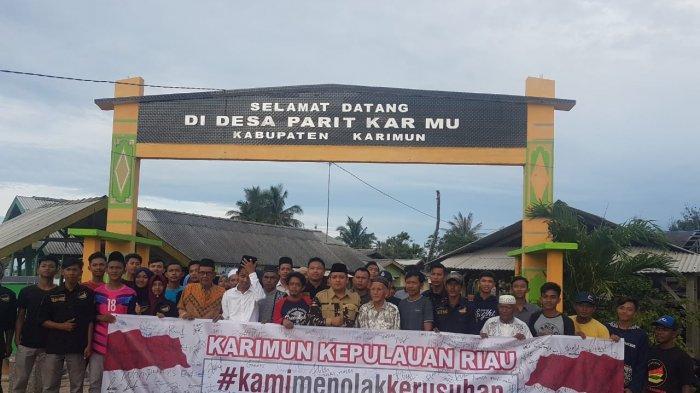 Tolak Kerusuhan Apapun Putusan Mahkamah Konstitusi. Ini Doa Warga Pulau Parit Untuk Indonesia