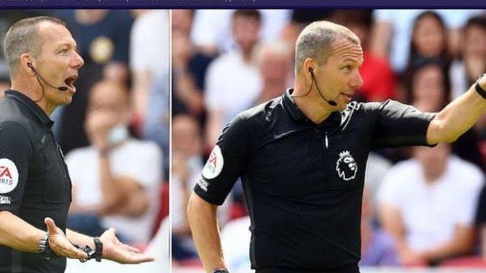 Aksi Kocak! Wasit Inggris Ganjar Suporter Aston Villa dengan Kartu Kuning