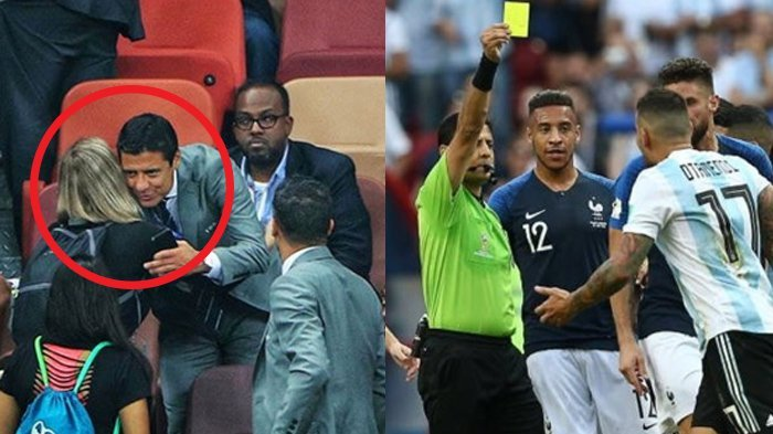 Terungkap! Gara-gara Foto Ini, Wasit Piala Dunia yang Pernah Bertugas di Liga Gojek Enggan Pulang