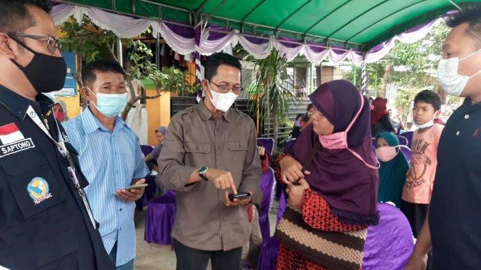 Wakil Wali kota Batam Amsakar Achmad saat menghadiri acara salah satu kecamatan di Kota Batam, Provinsi Kepri.